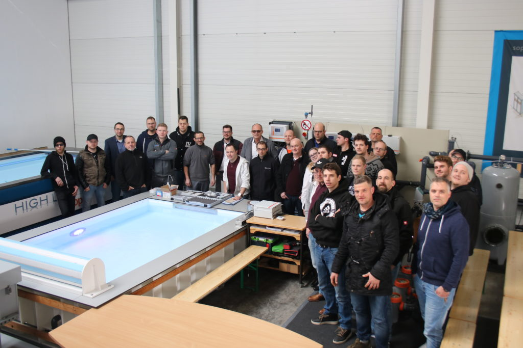 Gruppenbild Sopra-Akademie 2020 in Koblenz